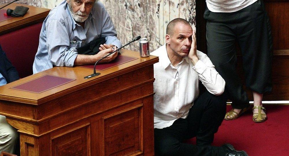 Ministr financí Řecka Janis Varufakis