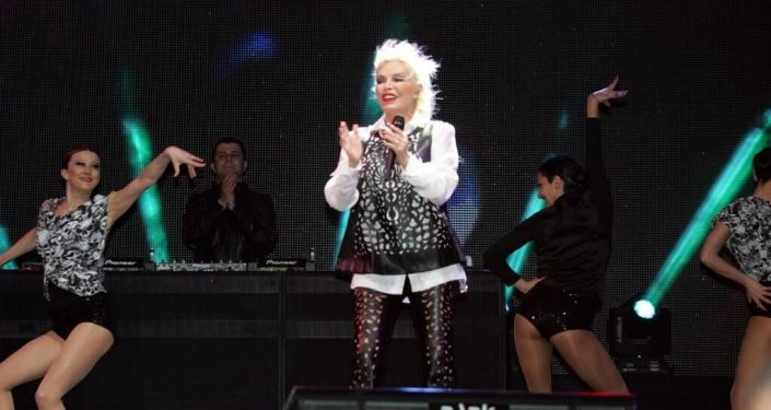 Turecká zpěvačka Ajda Pekkanová