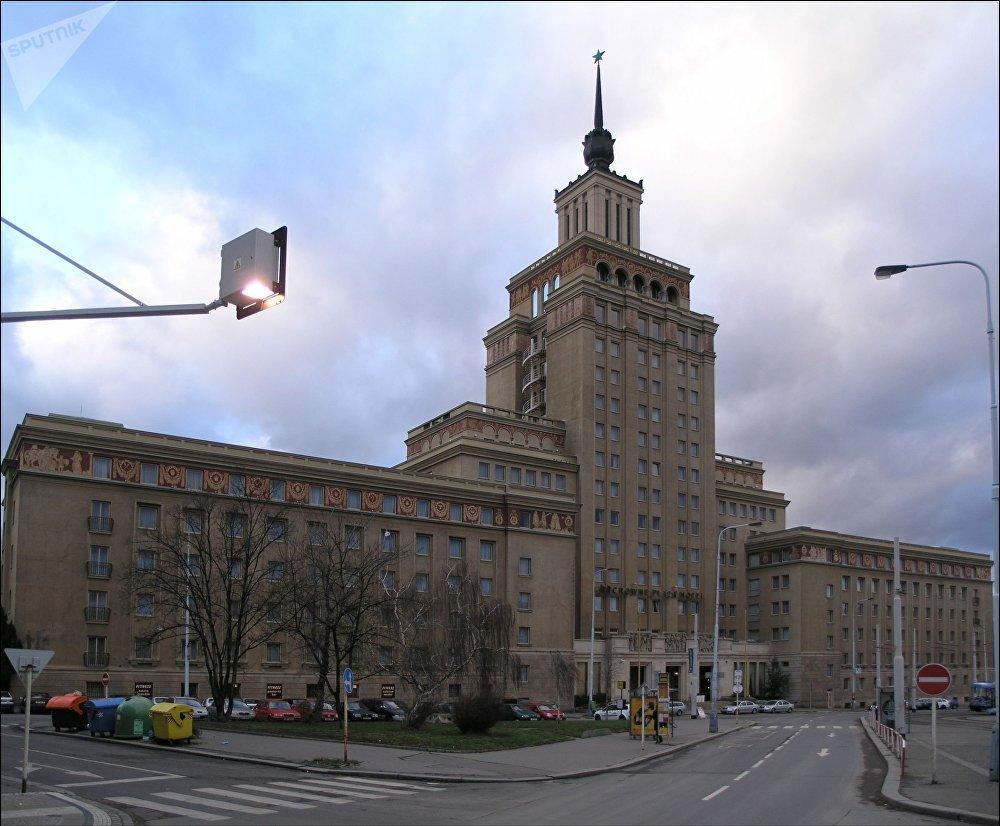 Budova Hotelu International