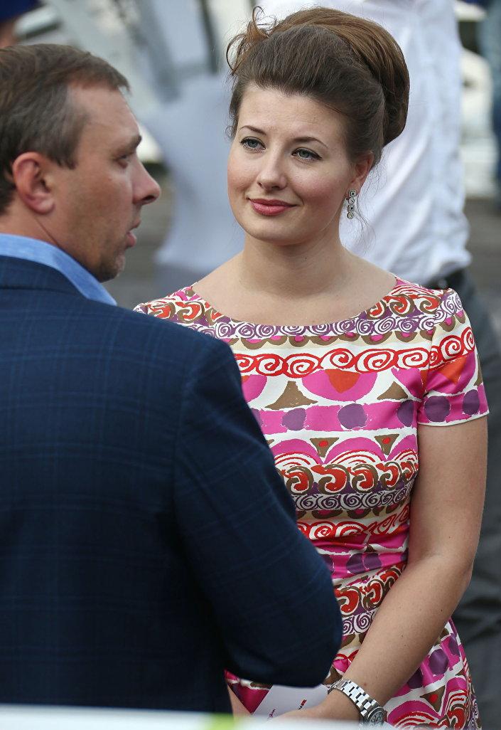 Poradkyně ministra obrany Ruska Marie Kitajevová