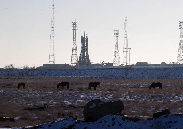 Bajkonur. Ilustrační foto