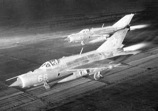 Stíhačky MiG-21