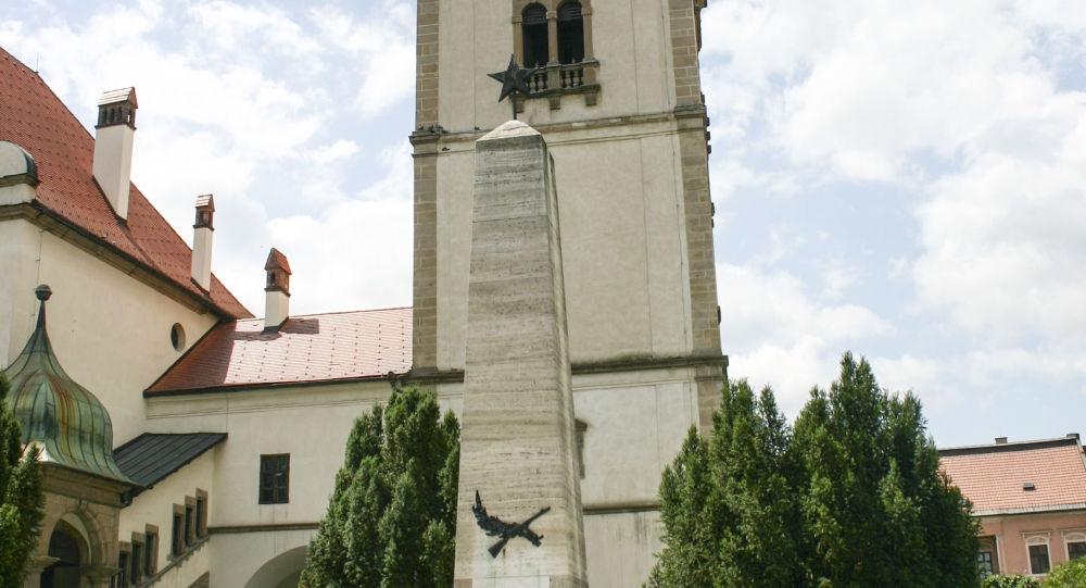 Pamätník osloboditeľom v Levoči