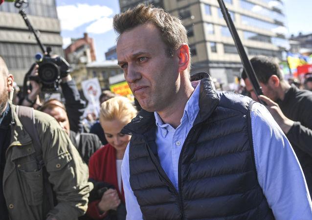 Ruský opoziční politik Alexej Navalný
