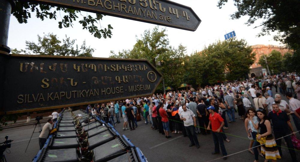 Události v Arménii