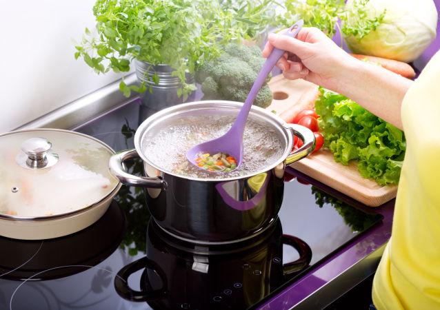 Vaření zeleninové polévky