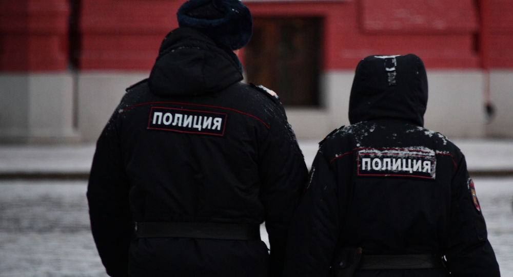 Policisté v Moskvě