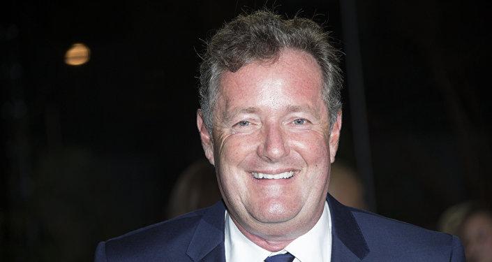 Televizní moderátor Piers Morgan