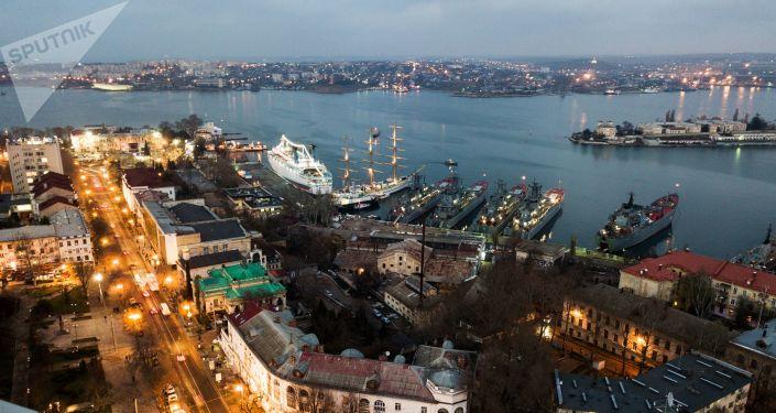 Pohled na Sevastopol