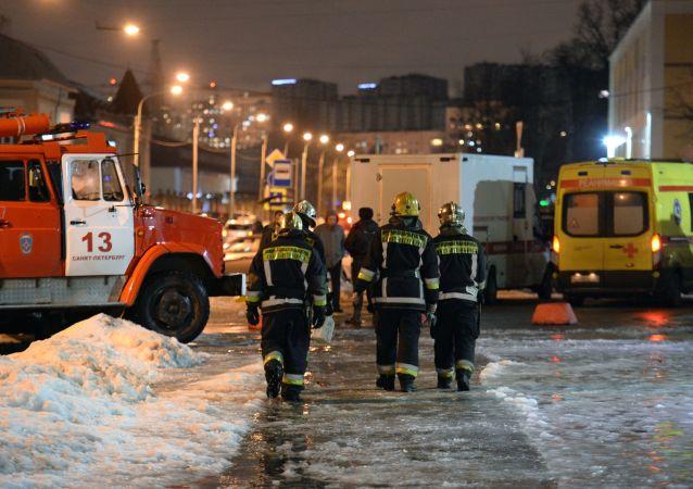 Po explozi v Petrohradu