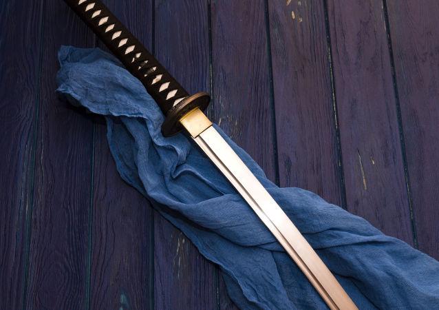 Samurajský meč