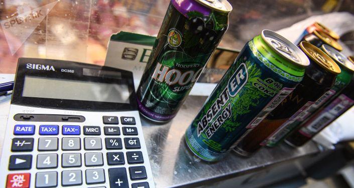 Energetické nápoje