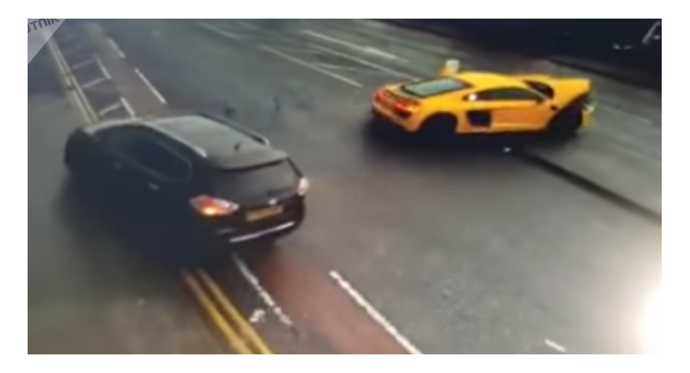Dopravní nehoda v Bradfordu