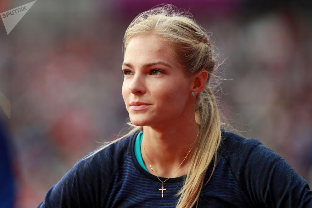 Ruská atletka Darja Klišinová