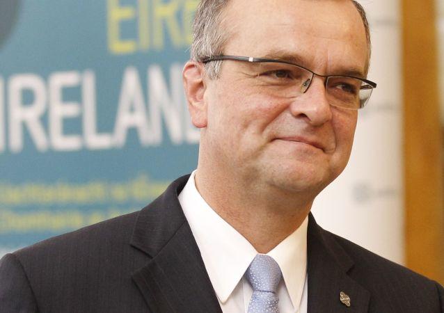 Bývalý předseda TOP 09 Miroslav Kalousek