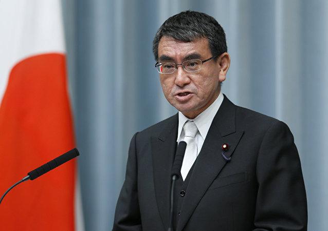 Ministr zahraničí Japonska Taro Kono
