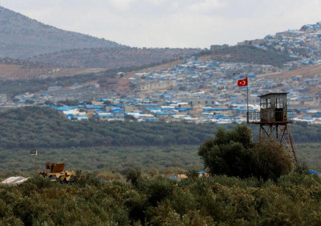 Hranice Turecka a Sýrie