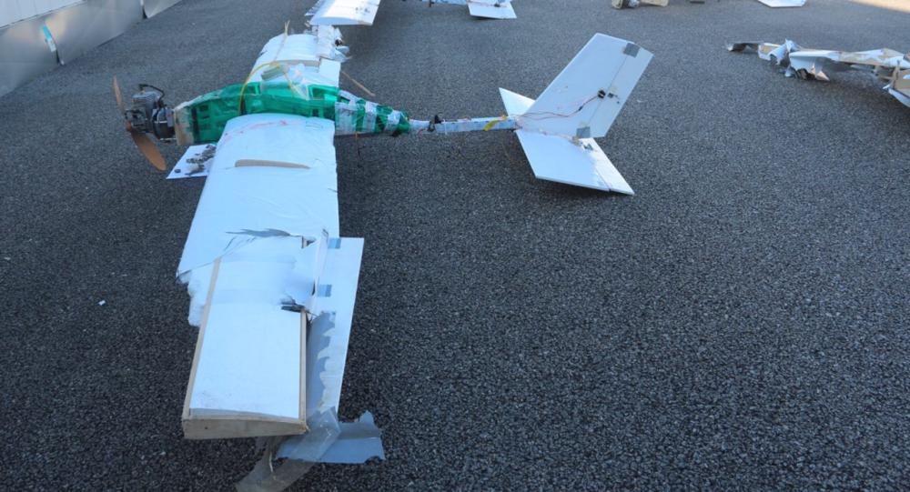 Bezpilotní letadla teroristů, Hmímím
