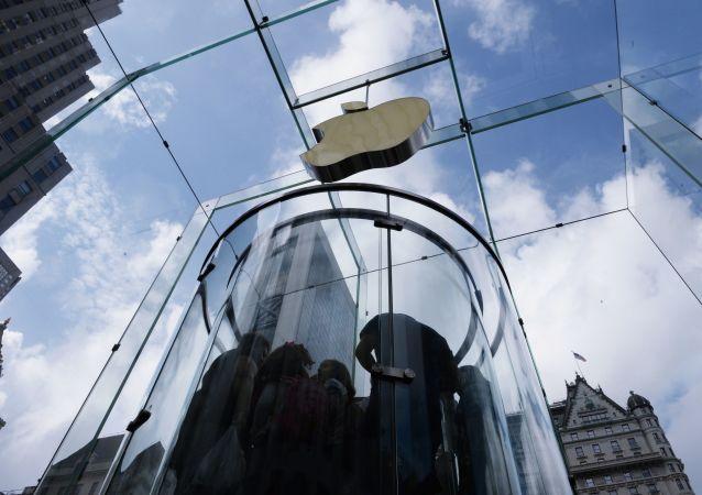 Obchod Apple v New Yorku