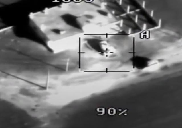 Ministerstvo obrany publikovalo video likvidace ozbrojenců útočících na Hmeimim