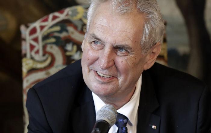 Prezident České republiky Miloš Zeman