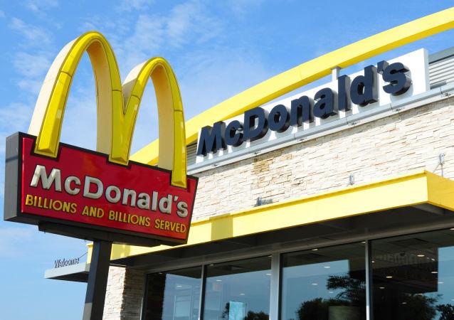 Ресторан McDonald's в США