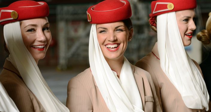 Letušky Emirates Airlines