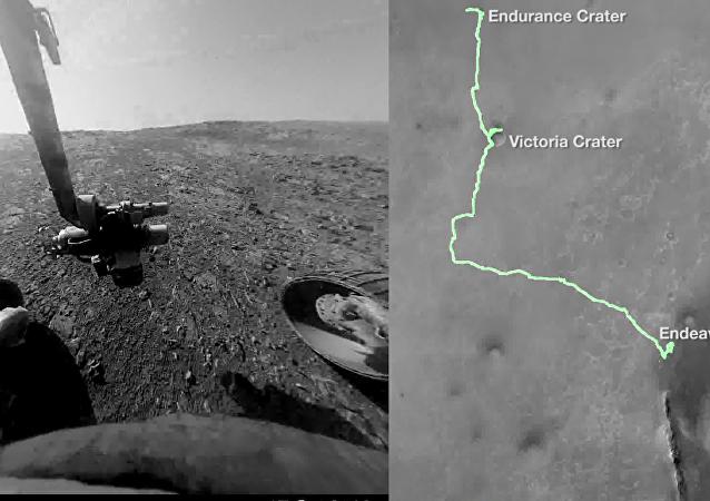 Putování na Marsu očima kosmického přístroje Opportunity