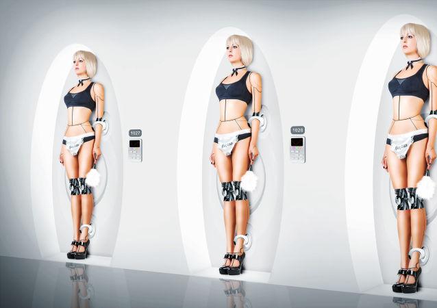 Tři sexuální roboti