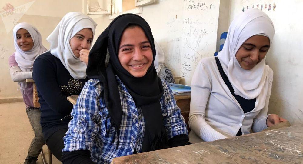 V syrské škole
