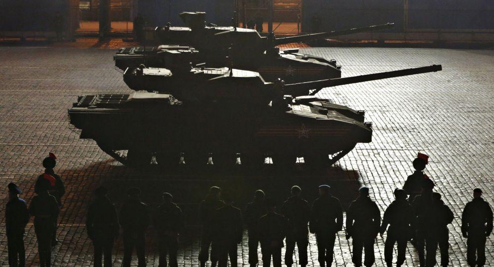 Nejmodernější ruské tanky Armata