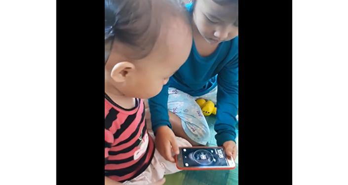 Děti se smartphonem