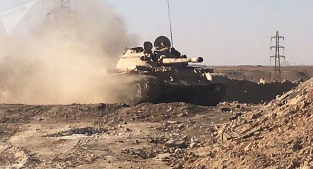 Syrské tanky
