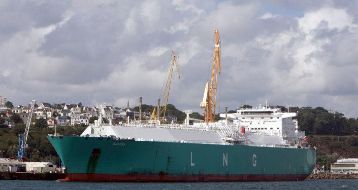 Tanker Gaselys