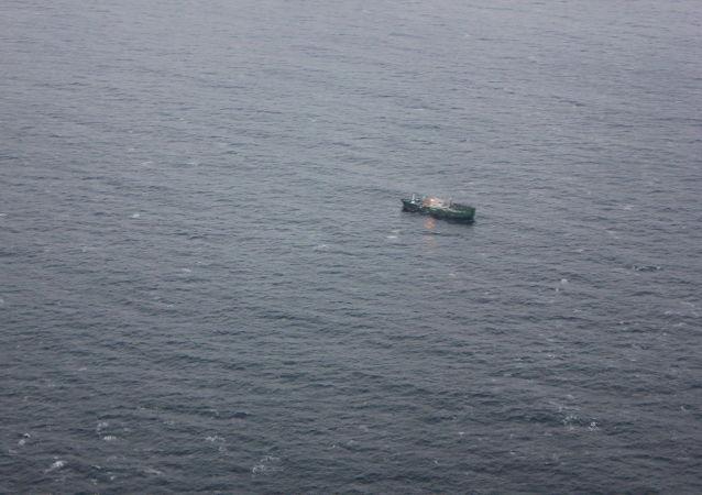 Loď v Japonském moři (ilustrační foto)