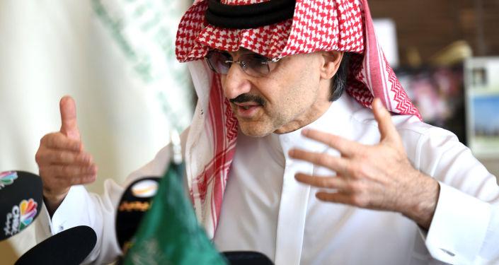 Saúdský princ  Alwaleed bin Talal