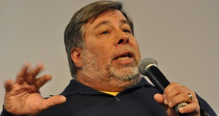 Steve Wozniak. Ilustrační foto
