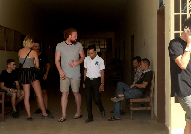 Zatčení turisté v Kambodži