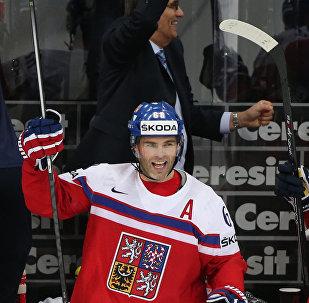 Jaromír Jágr při MS 2015