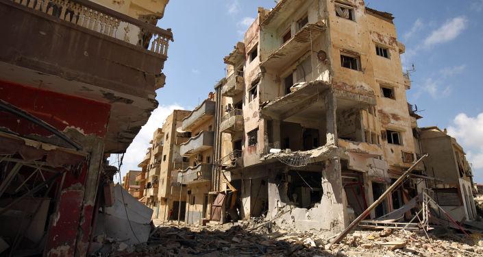 Destrukce v Benghází
