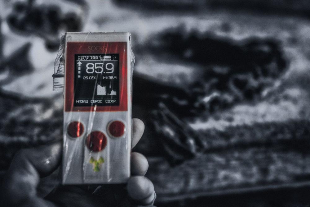 Fotografie Černobylu, které nahání hrůzu