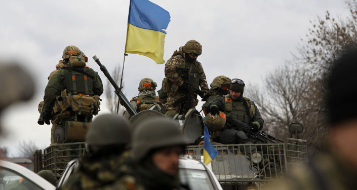 Ukrajinští vojáci. Archivní foto