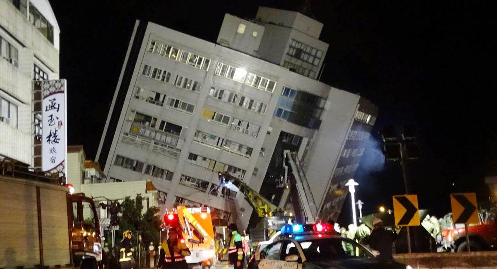 Následky silného zemětřesení na Tchaj-wanu