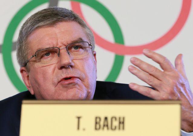 Prezident Mezinárodního olympijského výboru (MOV) Thomas Bach