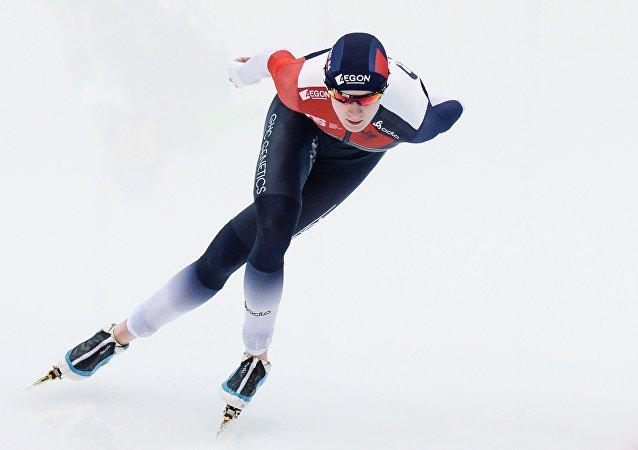 Trojnásobná olympijská mistryně Češka Martina Sáblíková