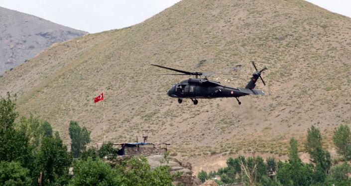 Turecký vrtulník