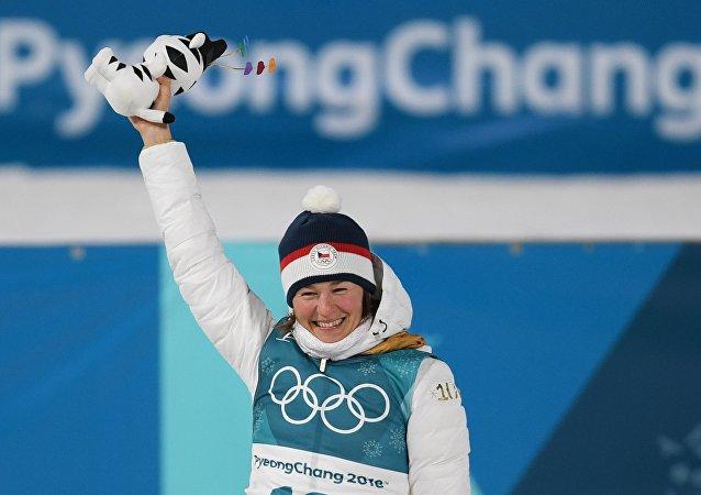 Veronika Vítková ve sprintu obsadila 3. místo