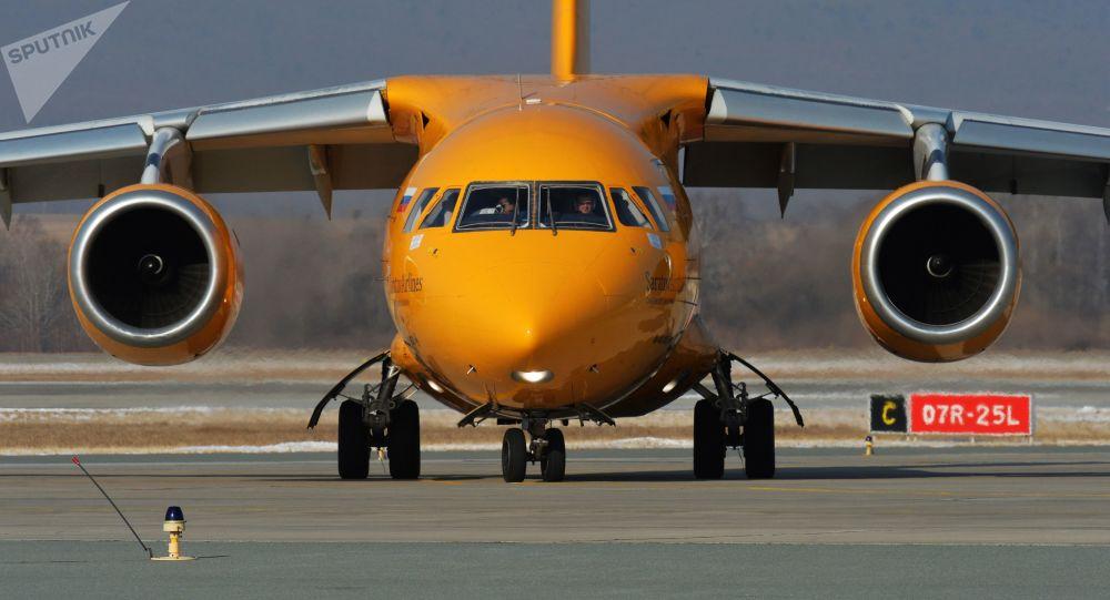 Dopravní letoun An-148. Ilustrační foto