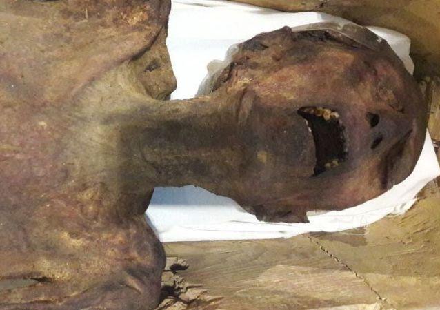 Křiklavá mumie