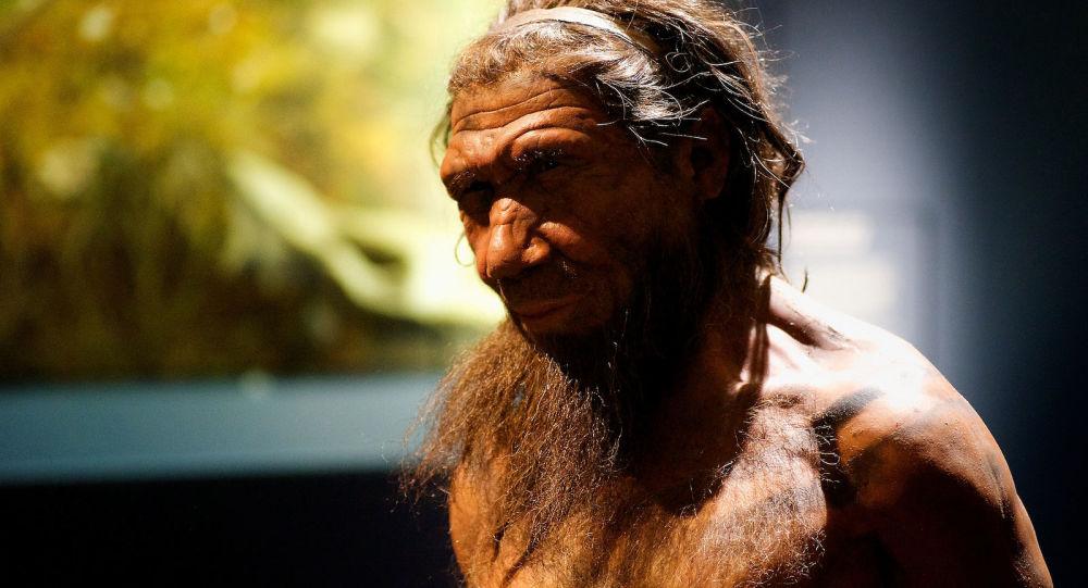 Neandertálec. Ilustrační foto
